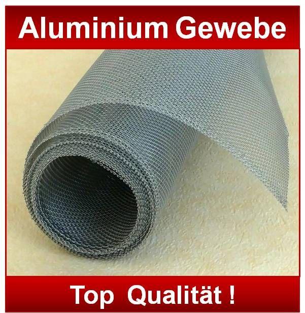 aluminium gewebe lichtschacht draht alu gitter fliegengitter gaze m cken tfg ebay. Black Bedroom Furniture Sets. Home Design Ideas